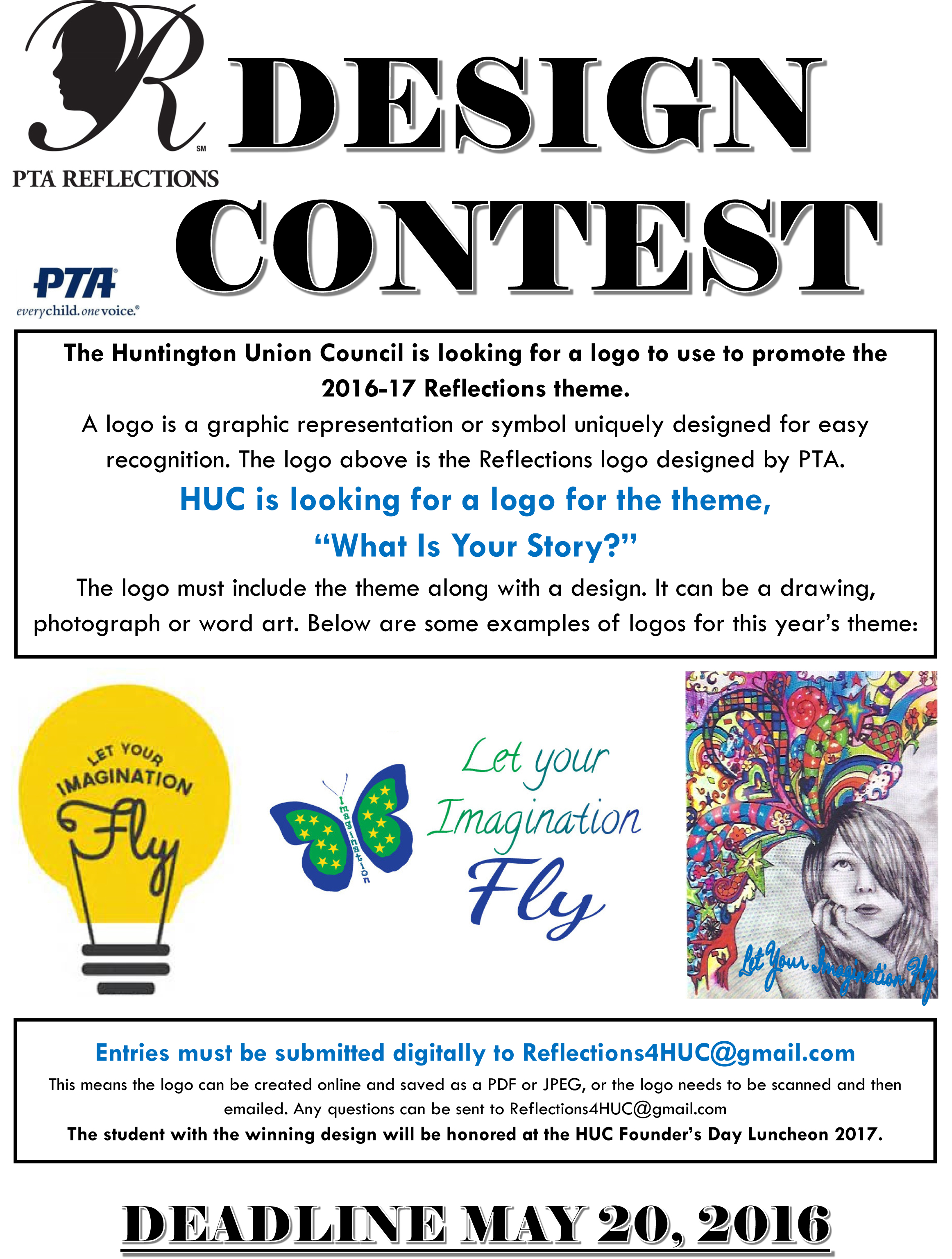Logo design contest what is your story huntington union logo design contest what is your story huntington union council pta buycottarizona